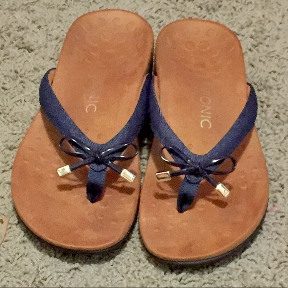 09986a23ccd6 VIONIC Bella Toe Post Orthotic Flip Flop Sandals 8
